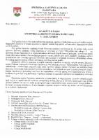 Izvještaj o radu SZG Daruvara za 2015.godinu
