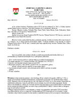 Zapisnik sa 28. sjednice Izvršnog i NO 2015 0206