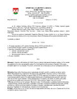 Zapisnik sa 30. sjednice Izvršnog  2015 0713