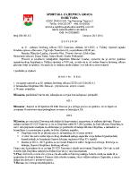 Zapisnik sa 31. sjednice Izvršnog  2015 0723