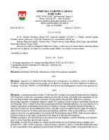 Zapisnik sa 32. sjednice Izvršnog  2015 0813
