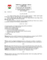 Zapisnik sa 33.Sjednice Izvršnog  2015 0902