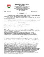 Zapisnik sa 35.Sjednice Izvršnog  2015 0918