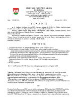Zapisnik sa 37.Sjednice Izvršnog  2015 1126