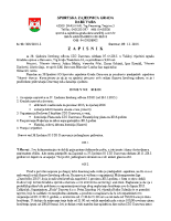 Zapisnik sa 38.Sjednice Izvršnog  2015 1207