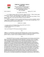 Zapisnik sa 39.Sjednice Izvršnog  2015 1229