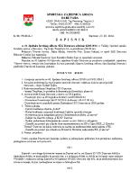 Zapisnik sa 41.Sjednice Izvršnog  2016 0322