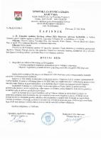 Zapisnik sa 43.Tematske sjednice Izvršnog  odbora 2016 0426