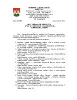 Plan rada Sportske zajednice Grada Daruvara u 2015. godini