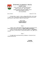 Statut – izmjene i dopune 02.07.2014.