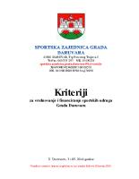 Izmjene i dopune Kriterija SZGD 31052016