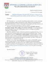 Obavijest klubovima SZG Daruvara – liječnički pregled za 2019