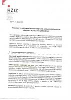 Preporuka za održavanje športskih natjecanja u dvoranama
