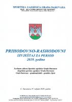 Prihodovno rashodovni izvještaj 2019