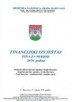 Završni računi izvještaj FINA 2019
