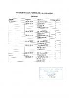 Raspored liječničkih pregleda 1.dio 2021.